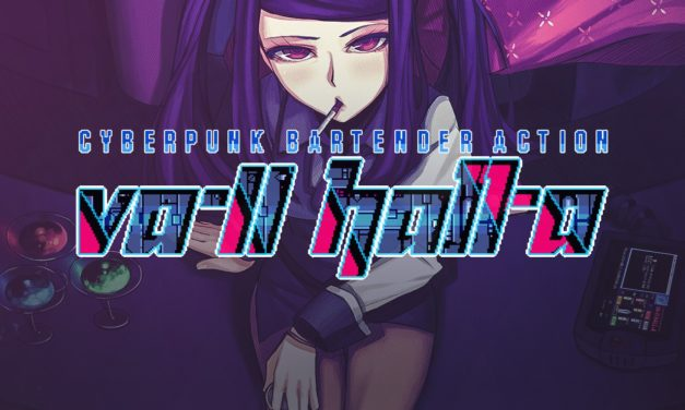 Game Review #44! VA-11 HALL-A: Cyberpunk Bartender Action!
