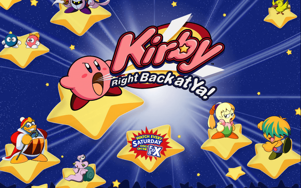 Anime Of The Week #55: Hoshi no Kirby (Kirby: Right Back at Ya!)